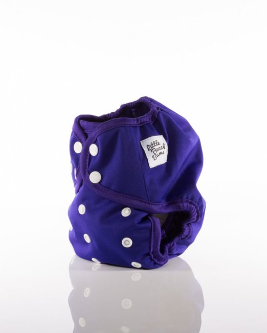 purple nappy cover