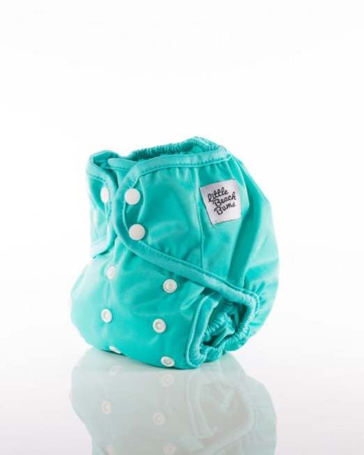 teal nappy cover