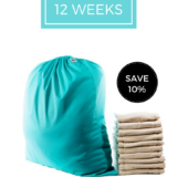 sign up for 12 weeks nappy service and save 10%